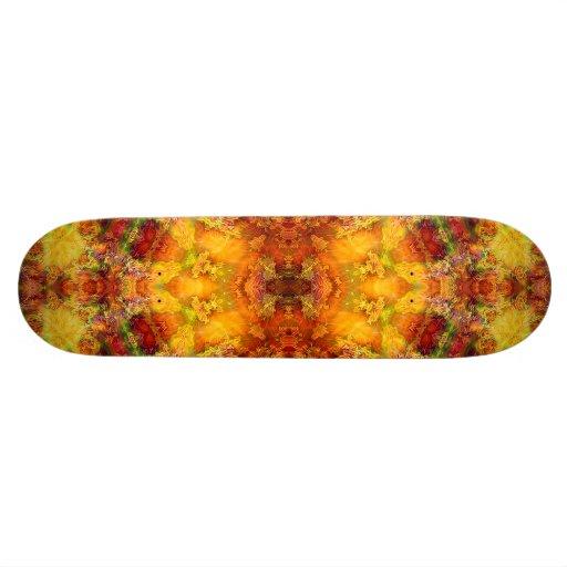 """In hohem Grade Mandala-Skateboard Solenoides Esse Bedrucktes Skateboard"