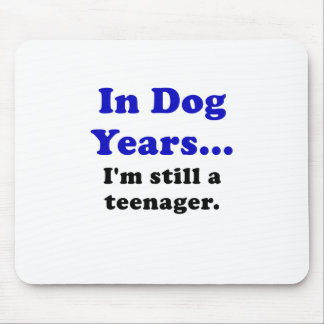 In Hundejahre Im noch ein Jugendlicher Mauspads