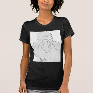 """""""In Ihrem Gesicht"""" Mündungs-Produkte T-Shirt"""