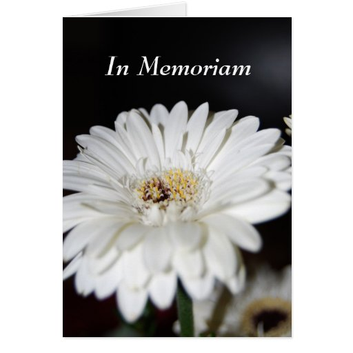 In Memoriam Karte