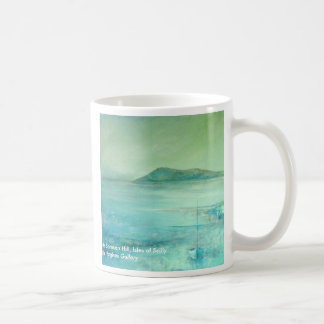 In Richtung zu Samson Hügel Inseln von Scilly Kaffeetasse