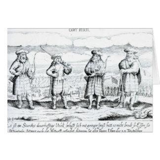 In solcher Kleidung tat Iren Karte