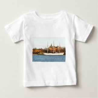 In Stockholm segeln, Schweden Baby T-shirt