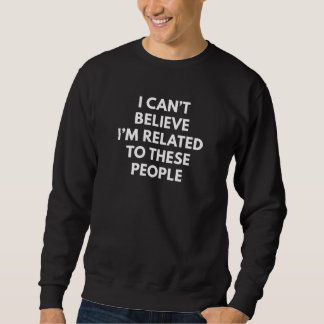 In Verbindung stehend Sweatshirt
