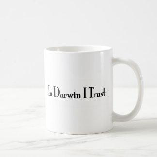 In Vertrauen Darwin I Tee Tasse