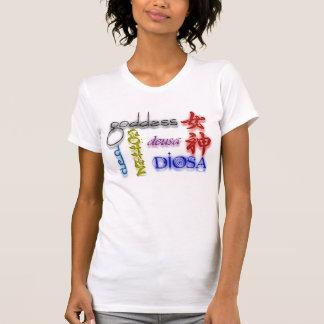 In was Sprache -- Sie sind eine Göttin! T-Shirt