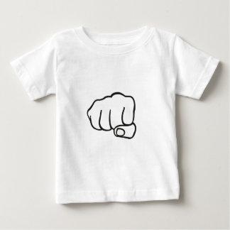in yo face faust.ai baby t-shirt