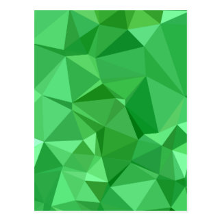 Inchworm-grüner abstrakter niedriger postkarte