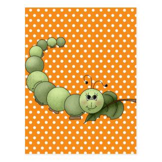 Inchworm Postkarte