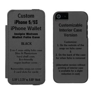 INCIPIO WATSON™ iPhone 5 GELDBÖRSEN HÜLLE