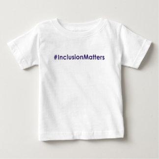 #InclusionMatters Säuglings-T - Shirt
