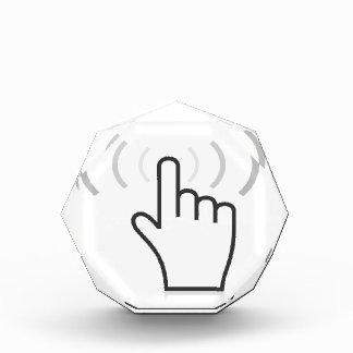 Indexieren Sie eine Hand Auszeichnung