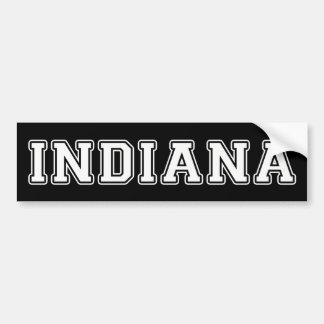 Indiana Autoaufkleber