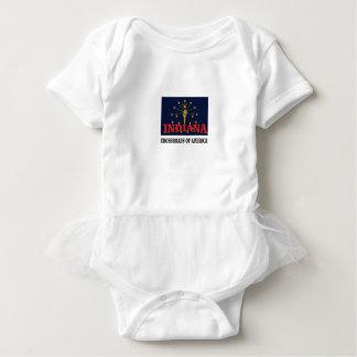 Indiana-Fackel Baby Strampler
