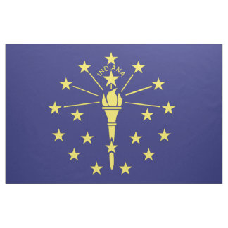 INDIANA-Flagge - Stoff