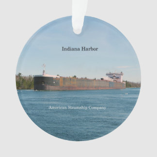 Indiana-Hafenacrylverzierung Ornament