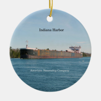 Indiana-Hafenverzierung Keramik Ornament