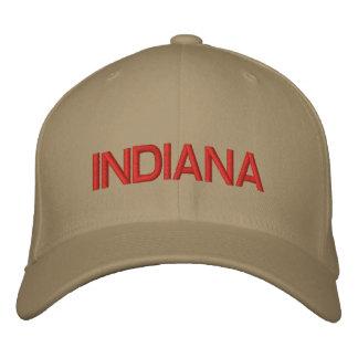 Indiana-Kappe Bestickte Baseballkappe