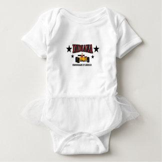 Indiana-Kreuzung Baby Strampler