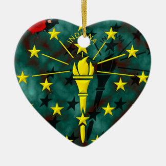 Indiana-Kunst Keramik Ornament