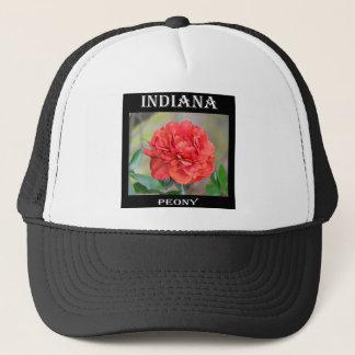 Indiana-Pfingstrose Truckerkappe