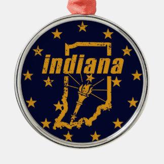 Indiana Silbernes Ornament
