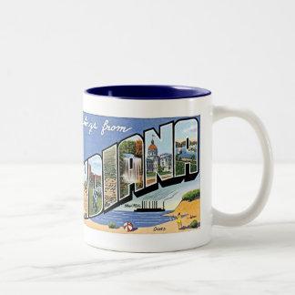 Indiana-Tasse Zweifarbige Tasse