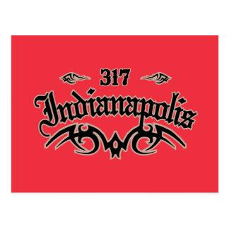 Indianapolis 317 postkarte