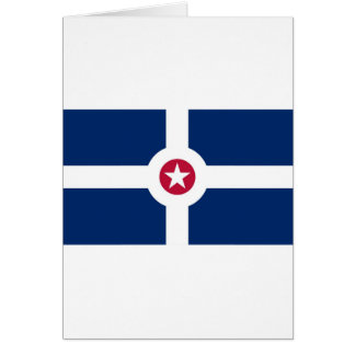 Indianapolis-Flagge Karte