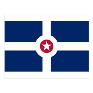 Indianapolis-Flagge Postkarte
