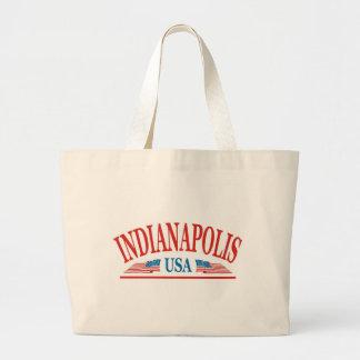 Indianapolis Indiana USA Jumbo Stoffbeutel