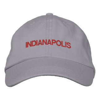 Indianapolis-Kappe Bestickte Kappe