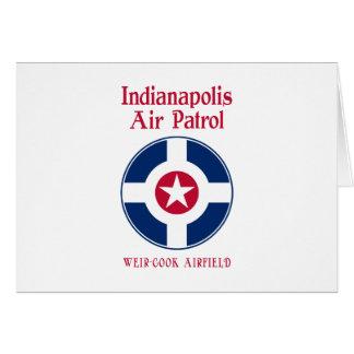Indianapolis-Luftwaffe Karte