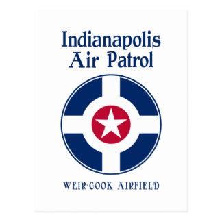 Indianapolis-Luftwaffe Postkarte