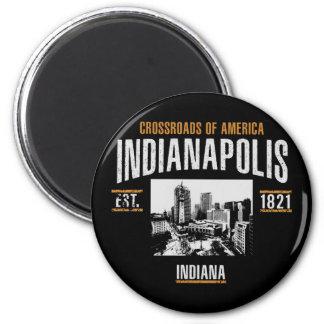 Indianapolis Runder Magnet 5,7 Cm