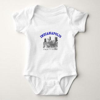 Indianapolis-Skyline Baby Strampler