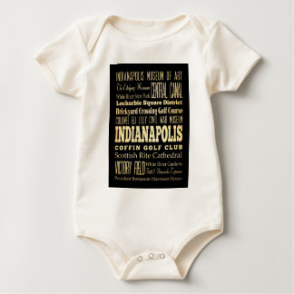Indianapolis-Stadt der Baby Strampler