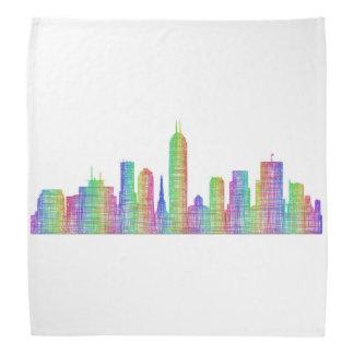 Indianapolis-Stadt-Skyline Kopftuch