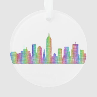 Indianapolis-Stadt-Skyline Ornament