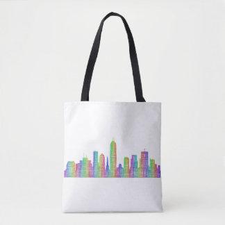 Indianapolis-Stadt-Skyline Tasche
