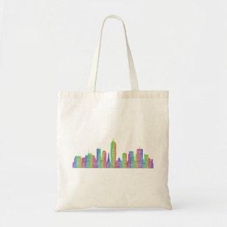 Indianapolis-Stadt-Skyline Tragetasche
