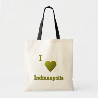 Indianapolis -- Tiefgrün Tragetasche