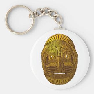 Indianer Native American Maske mask Schlüsselanhänger