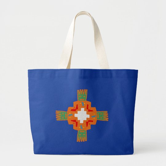 Indianer native american Verzierung decoration Jumbo Stoffbeutel
