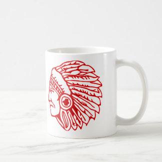 Indianer-roter Inder Kaffeetasse