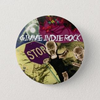Indie Felsen Runder Button 5,1 Cm