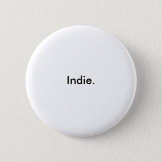 Indie. Runder Button 5,1 Cm
