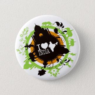 Indien-Abzeichen der Liebe I Runder Button 5,7 Cm