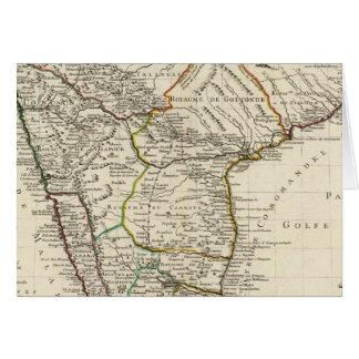 Indien, Bangladesch, Asien Karte