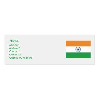 Indien - dünn visitenkarten
